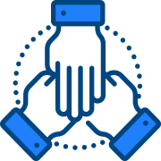 Icon of a shaking hands