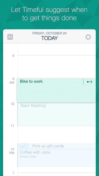 Timeful mobile app builder