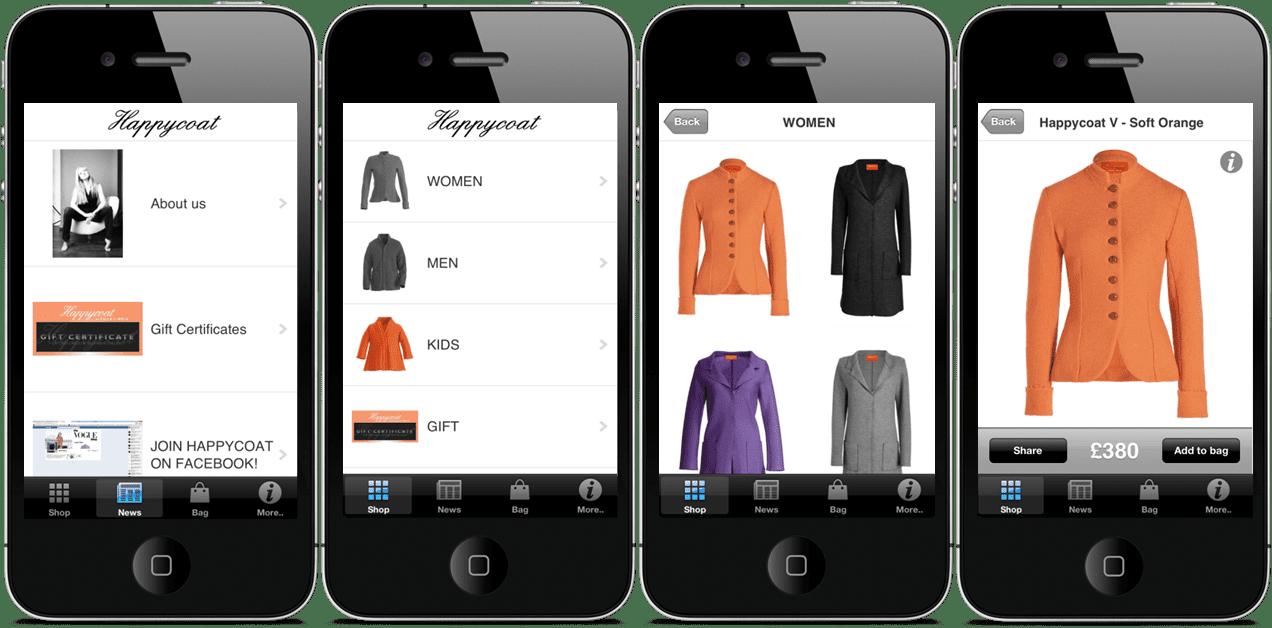 fashion apps mobile app builder
