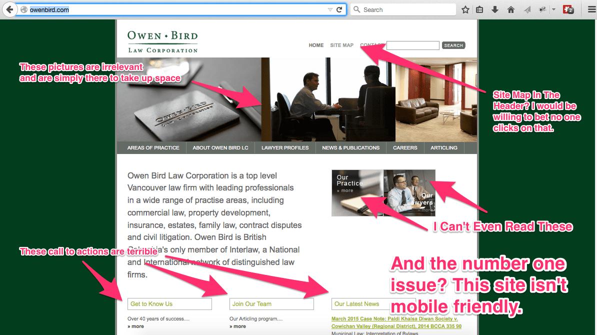 lousy websites mobile app builder