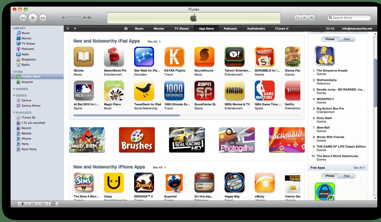 iPad App Store mobile app builder