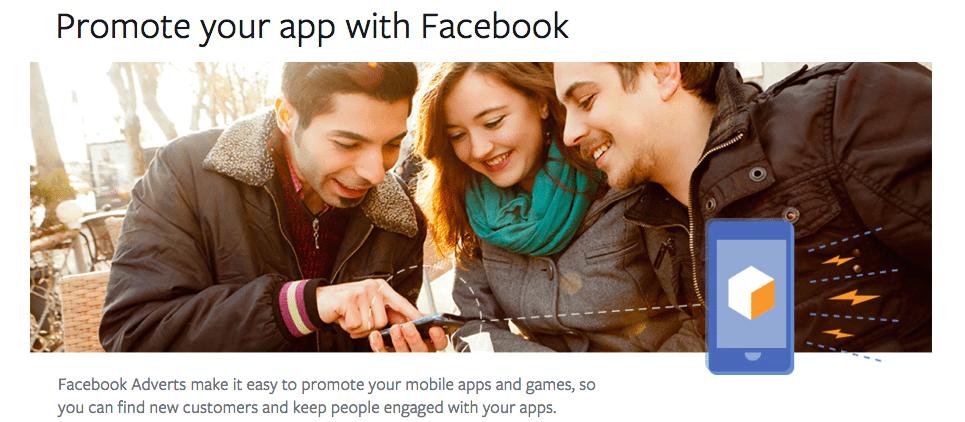promote apps on facebook