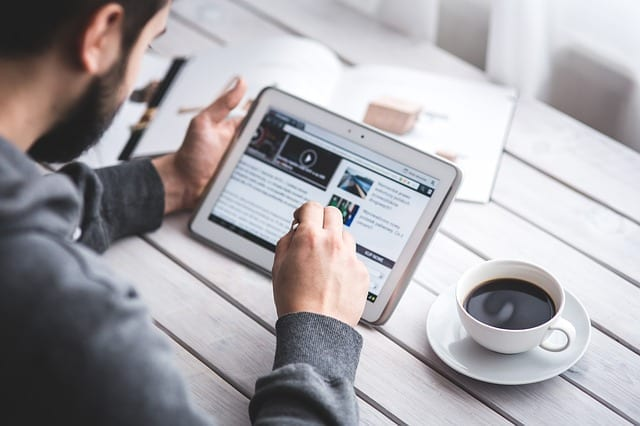 blogging for content marketing mobile app builder