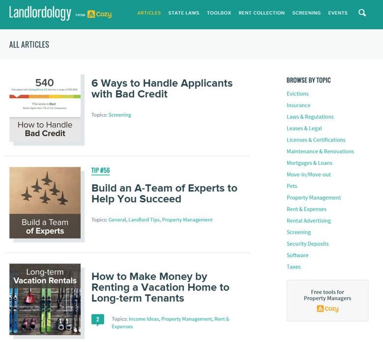 landlordology mobile app builder