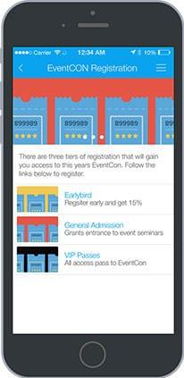 03-Events-Registration-206x423 mobile app builder