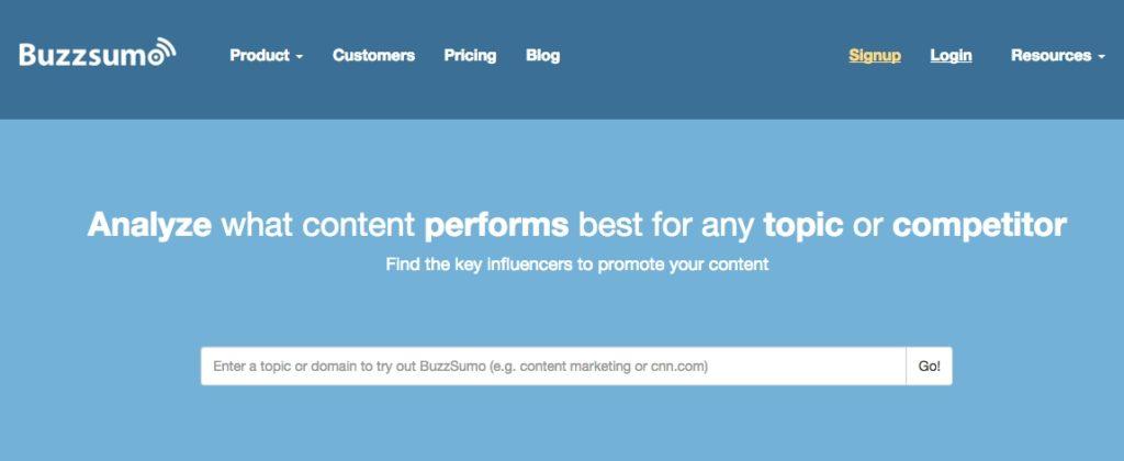 BuzzSumo mobile app builder