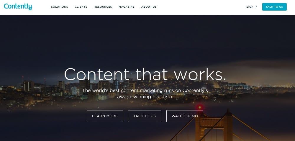 contently mobile app builder