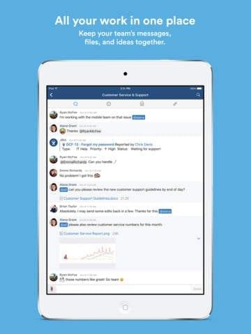 hipchat mobile app builder