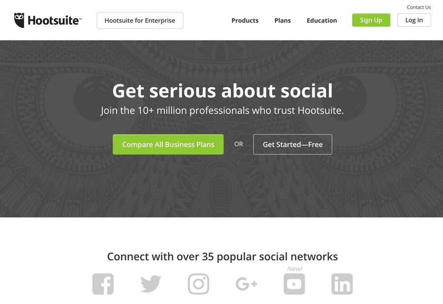 hootsuite mobile app builder
