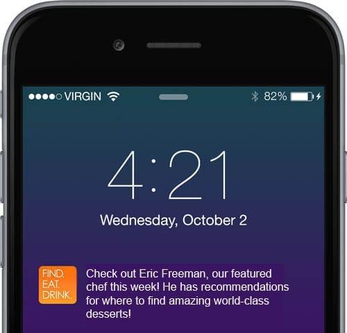 iOS 8 iPhone 6 mobile app builder