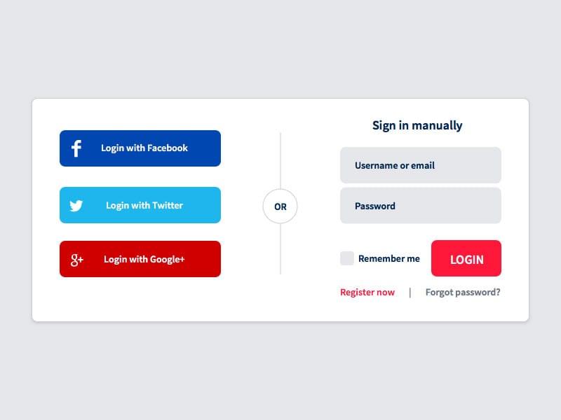 social-login-designing-for-mobile-input mobile app builder