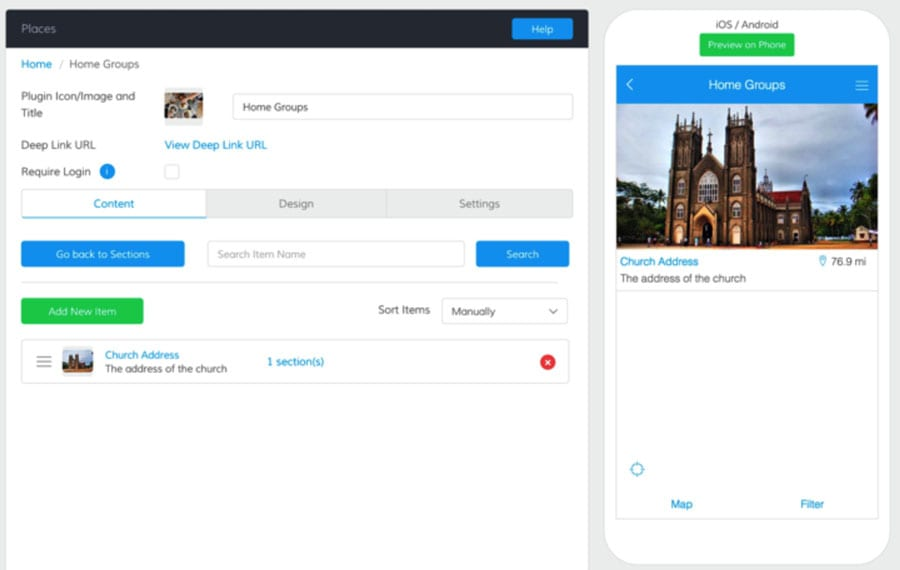 24 mobile app builder