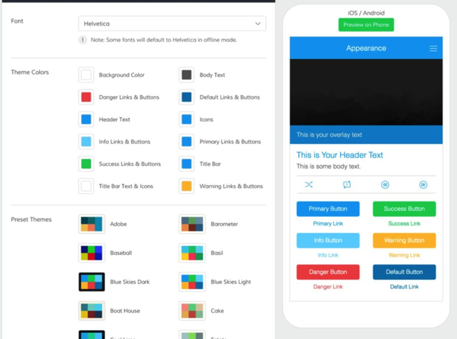 6 mobile app builder