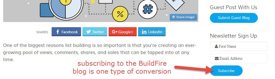 Buildfire-Subscriber-Conversion mobile app builder