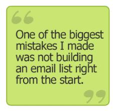 email mobile app builder