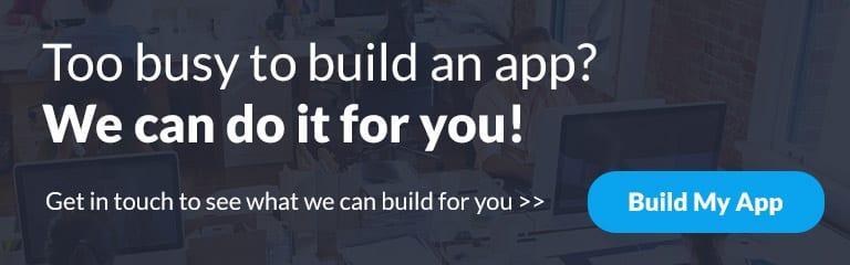 pro-services mobile app builder