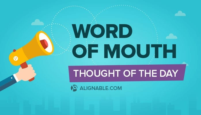 word of mouth (WOM)