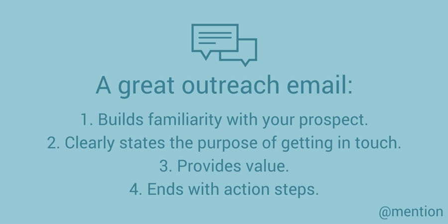 Tips for great outreach emails