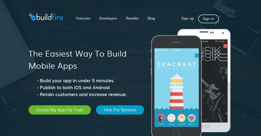 image35 mobile app builder