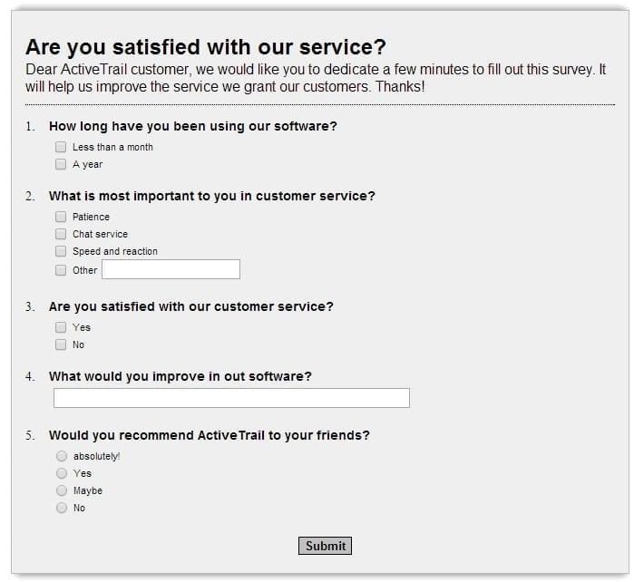 improve services question mobile app builder