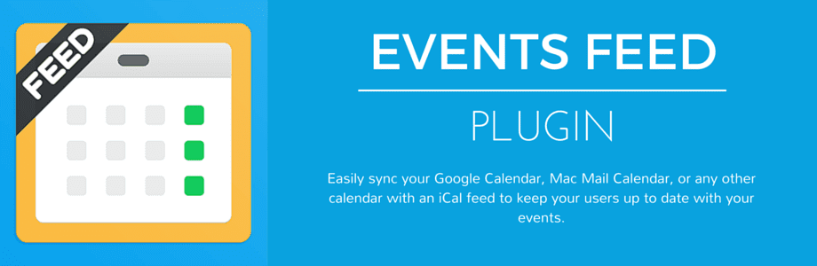 Events Feed Plugin mobile app builder