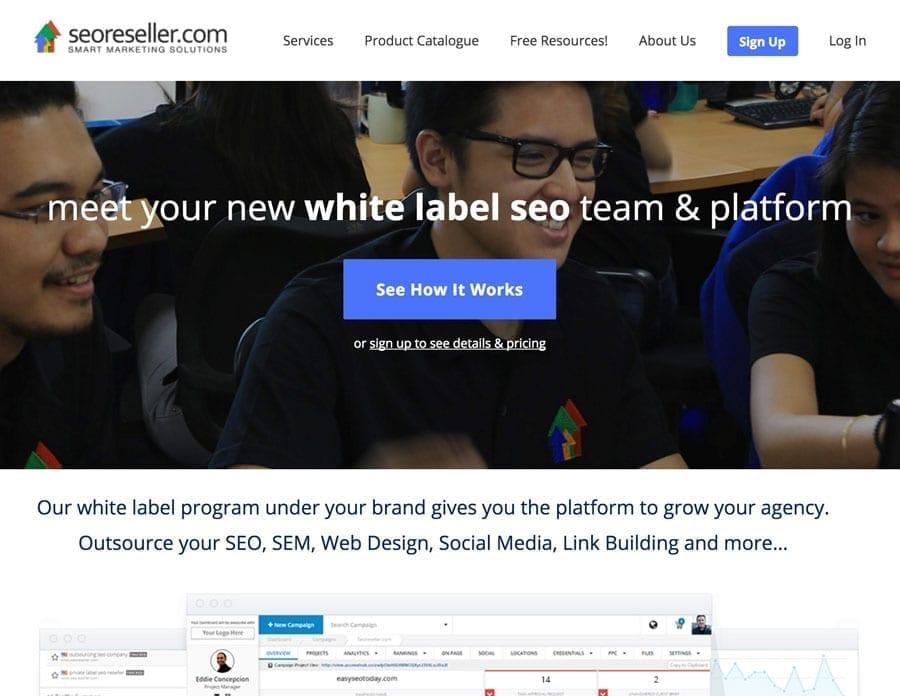 seoreseller mobile app builder
