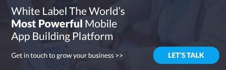 white-label mobile app builder