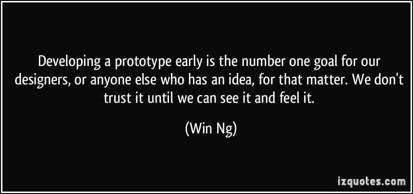 Create a prototype