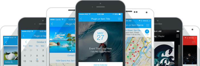 Mobile app examples
