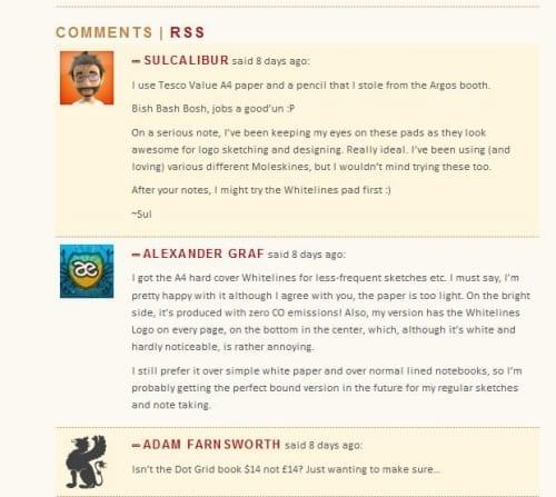 Comment on niche blogs
