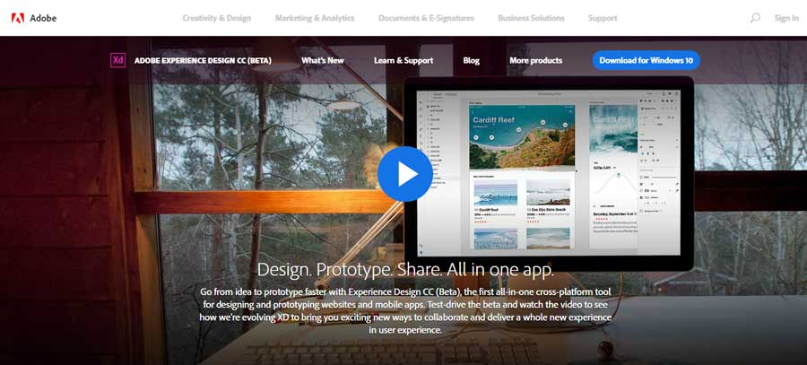 Adobe Experience Design XD