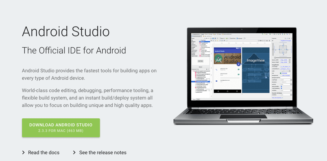 Download Android Studio and SDK Tools Android Studio