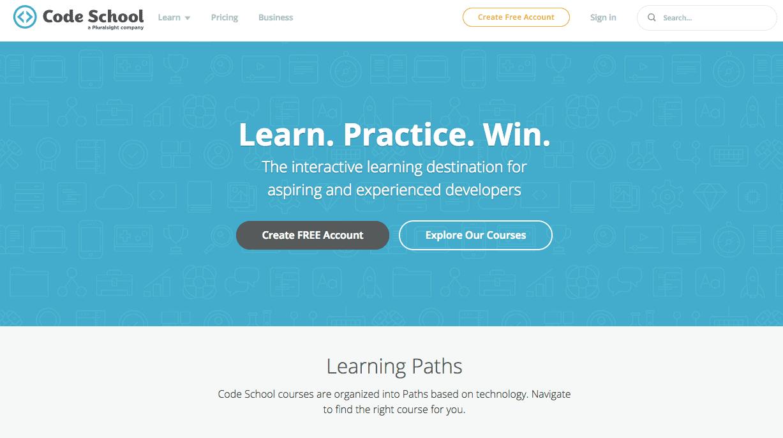 Learn to Code Online with Code School Code School