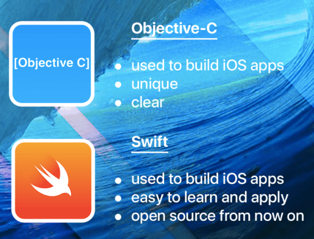 best iOS languages to code