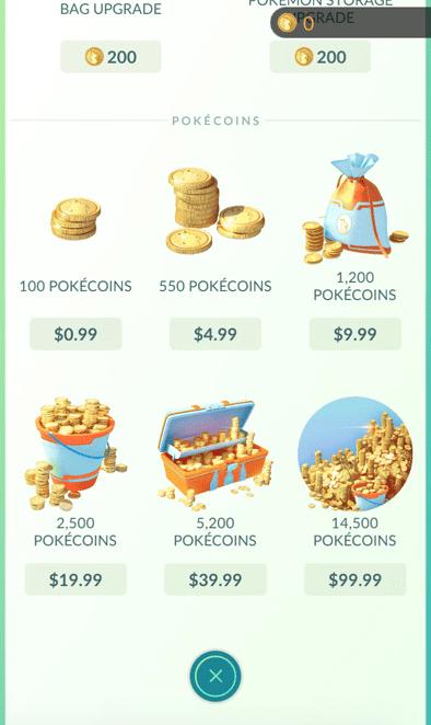 Pokemon Go Revenue Stream