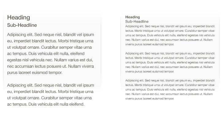 readability text size