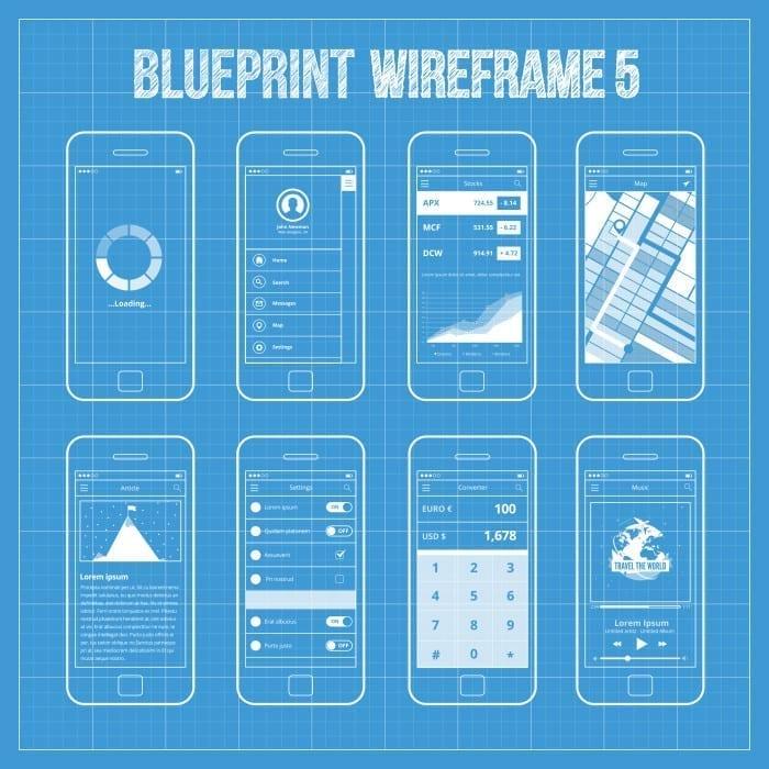 make an app wireframe