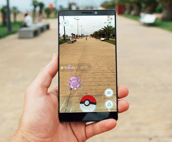 augmented reality pokemon go