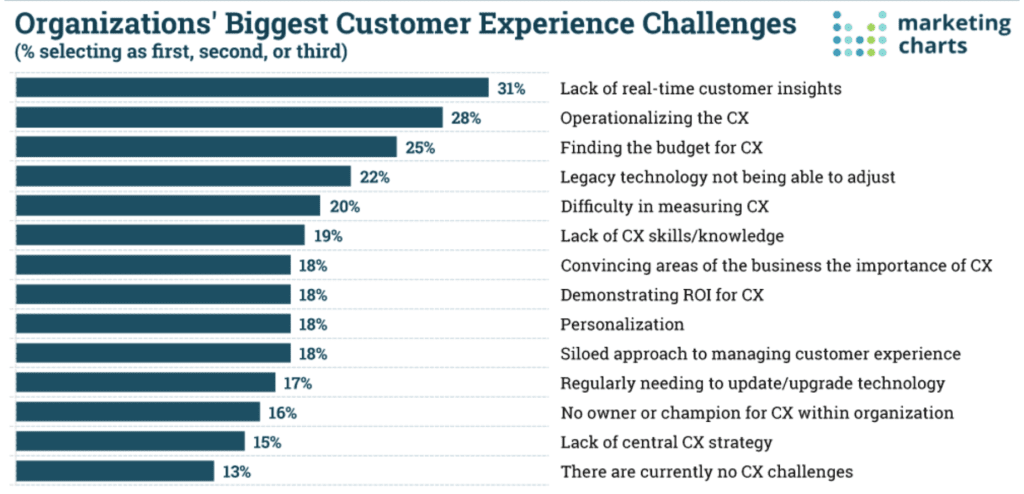 Customer Experience Challenges