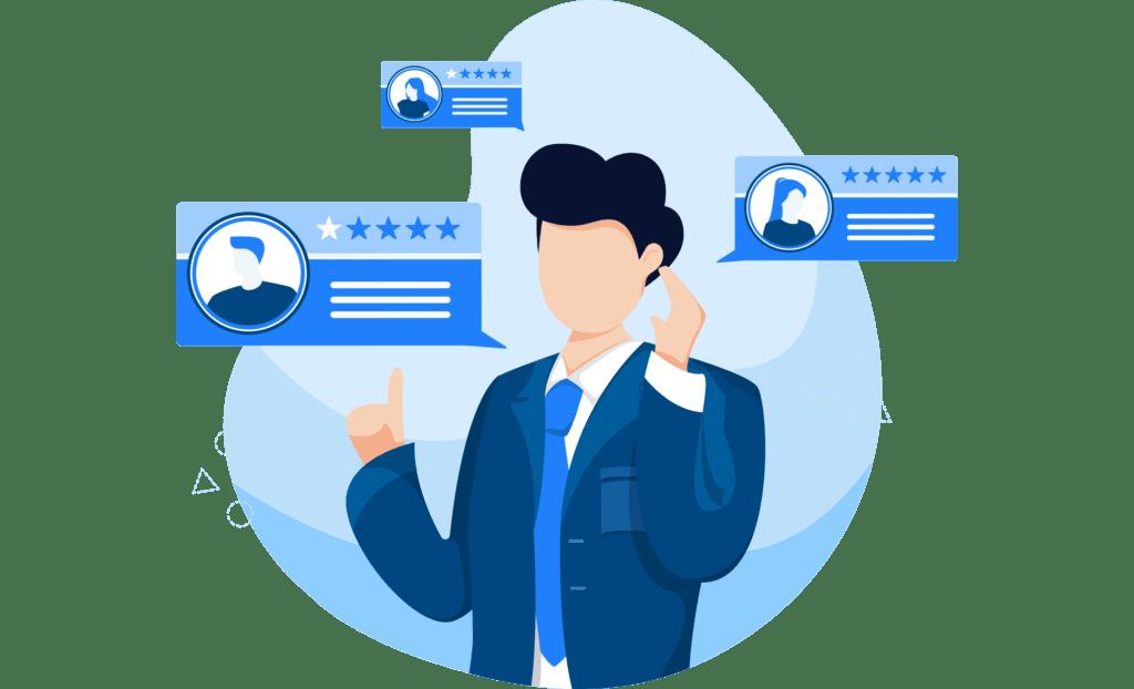 gather user feedback