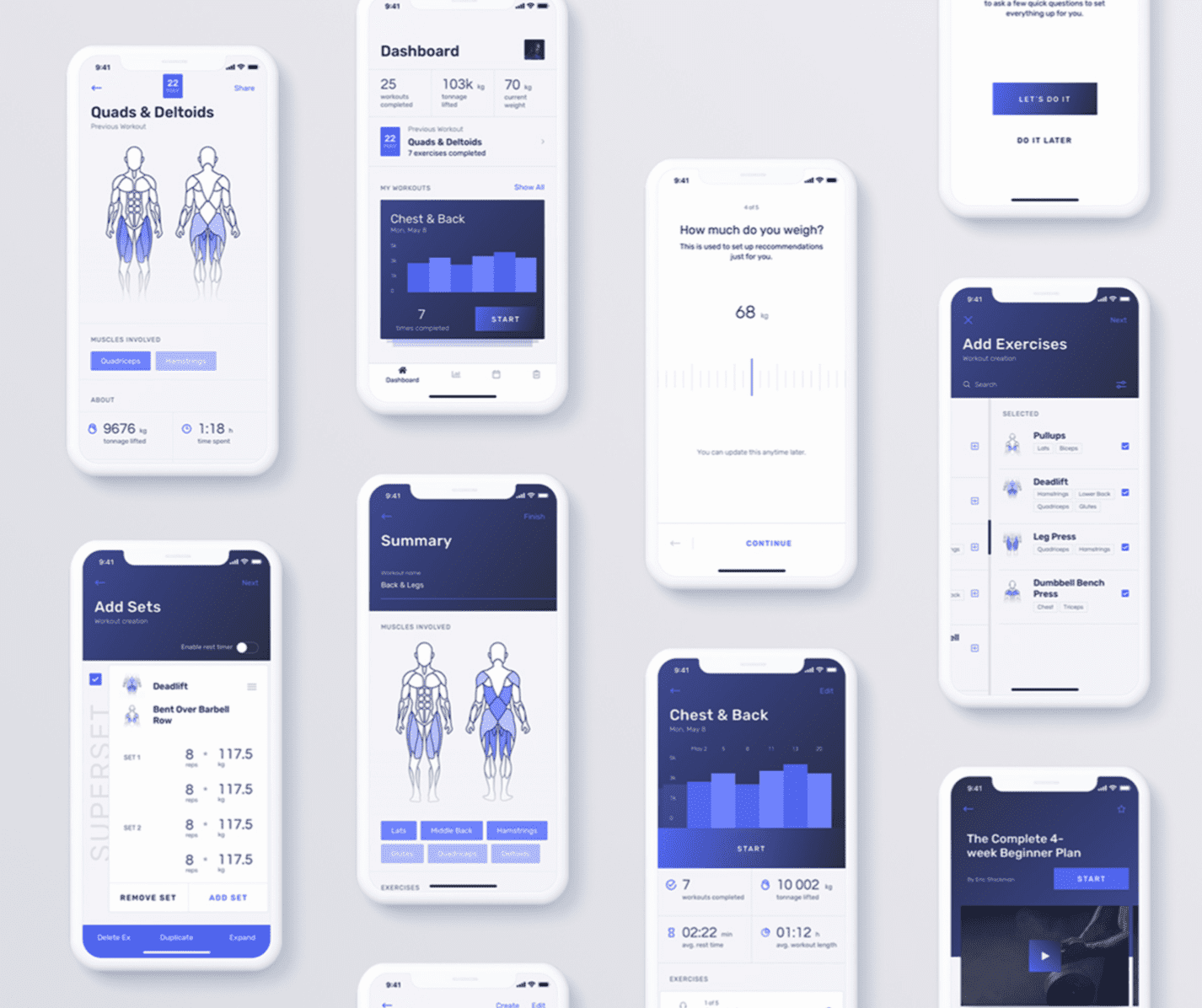 High fidelity mockups and wireframes